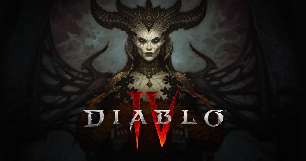 Diablo IV promotional screen