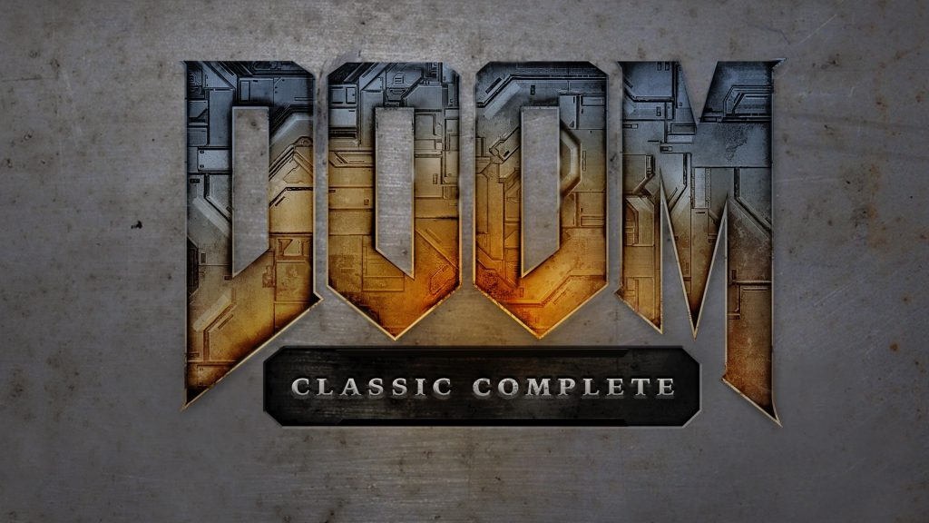 Doom Classic Complete logo - first version of the game