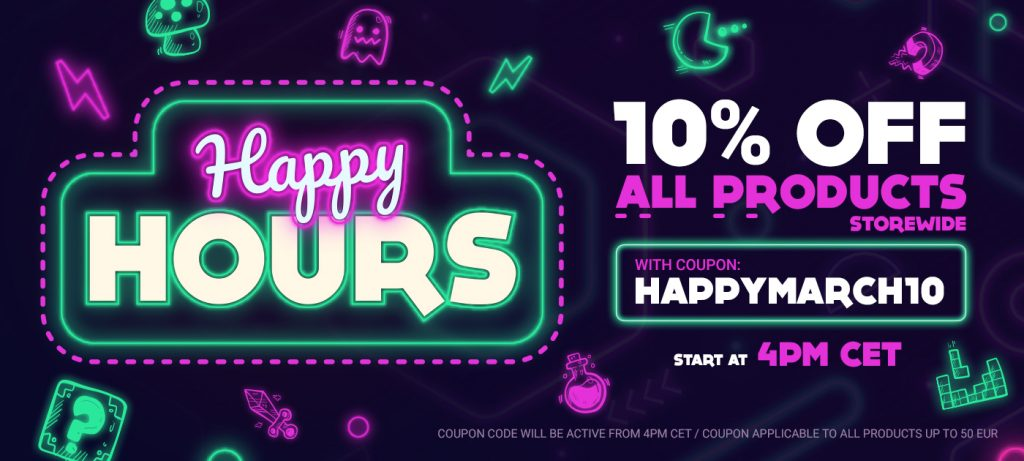 Happy Hours Gamivo banner