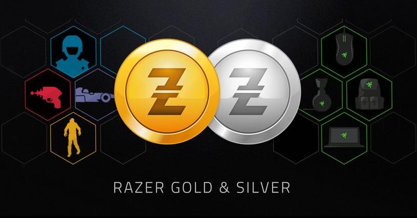 Razer Gold and Silver logos