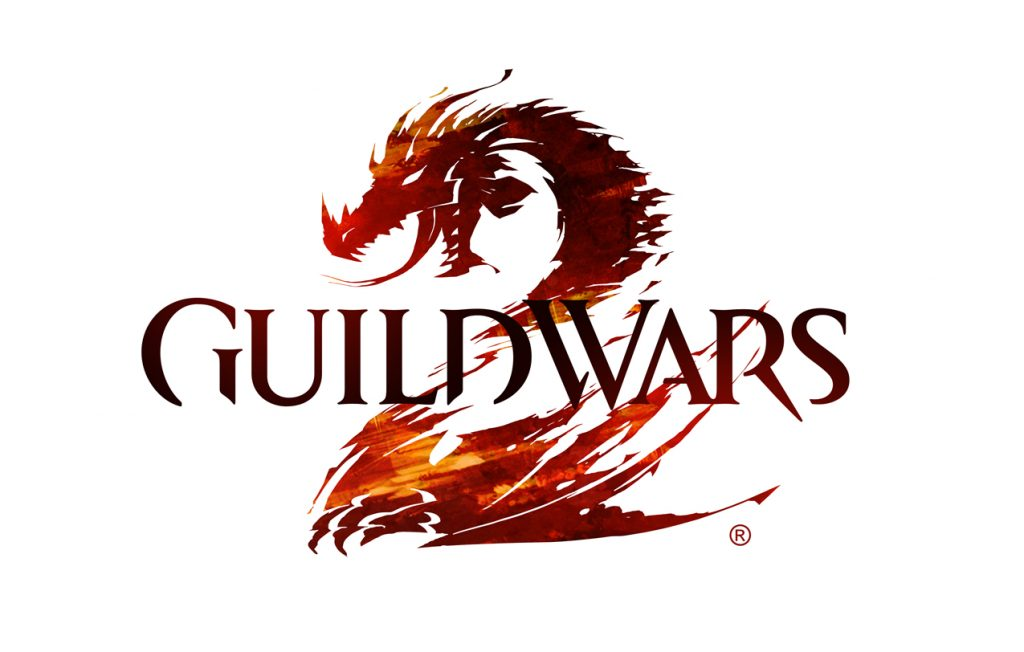 Guild Wars 2 logo depiction a dragon in form of number 2. Great MMO game no doubt