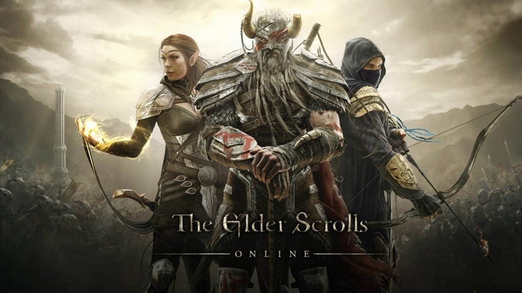 The Elder Scrolls Online wallpaper with mage, warrior and rouge. One of the newest and freshest MMO out here