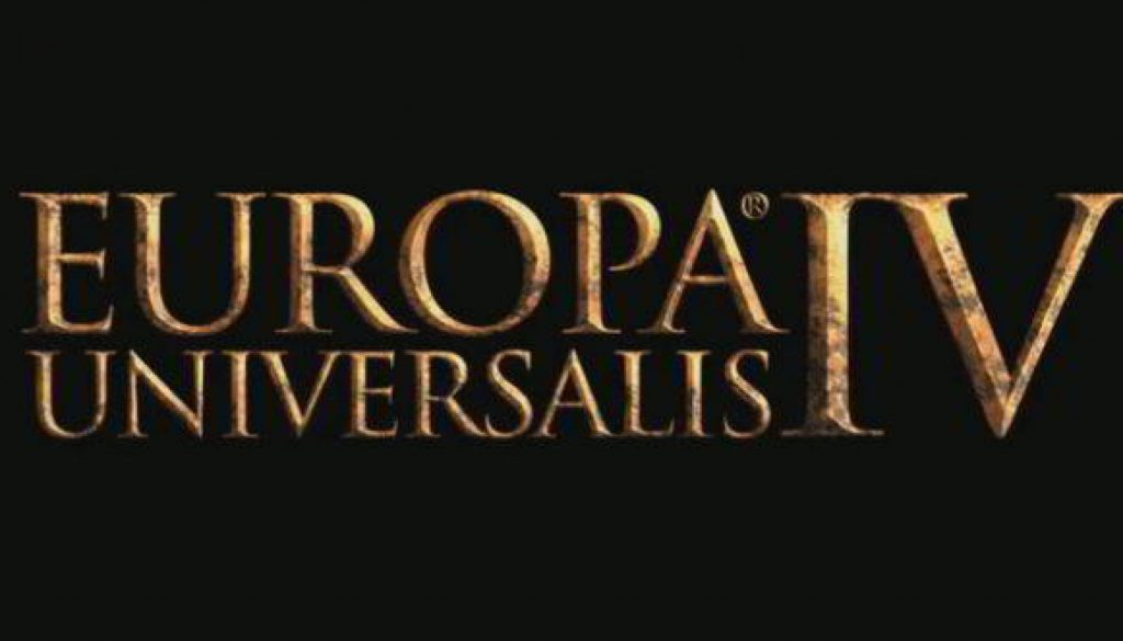 Europa Universalis IV logo - great strategy for less than 5 euro