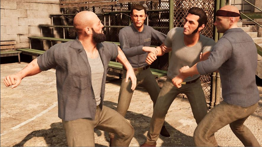 Storytelling in A Way Out