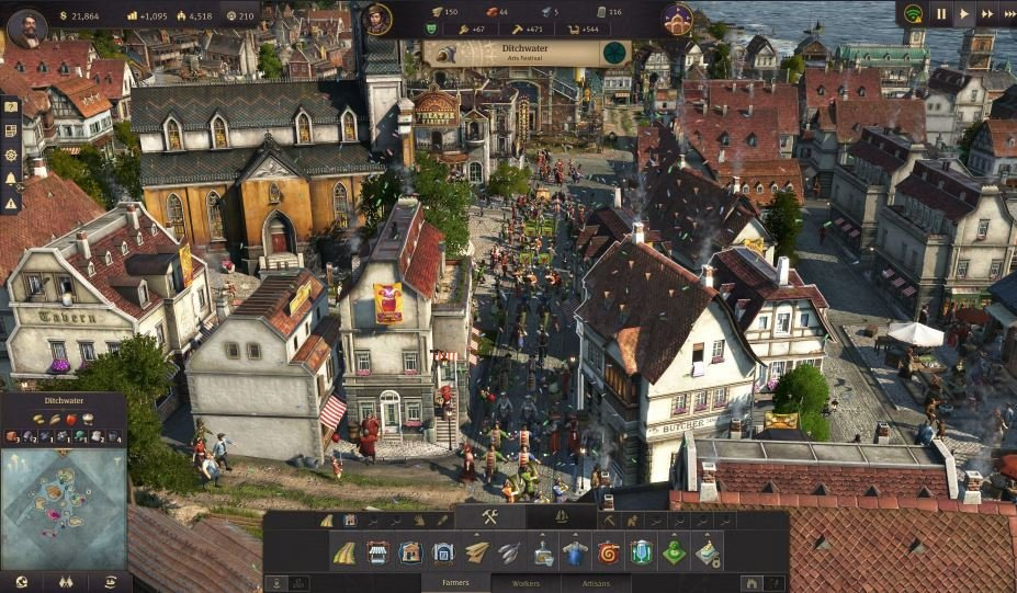 Anno 1800 gameplay
