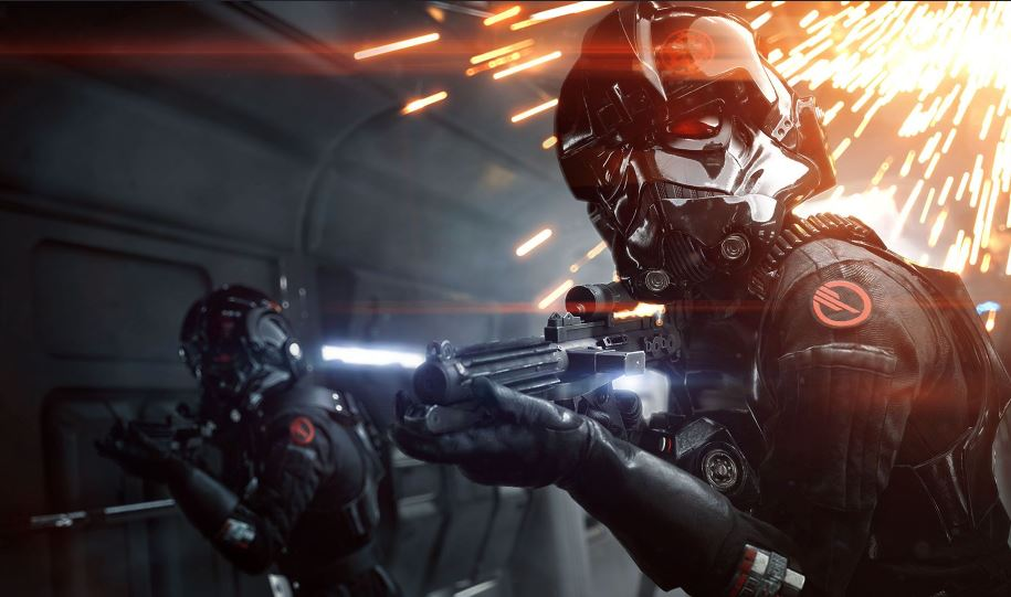 Battlefront cinematic scene