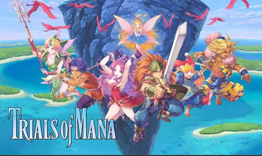 Trials of Mana cover