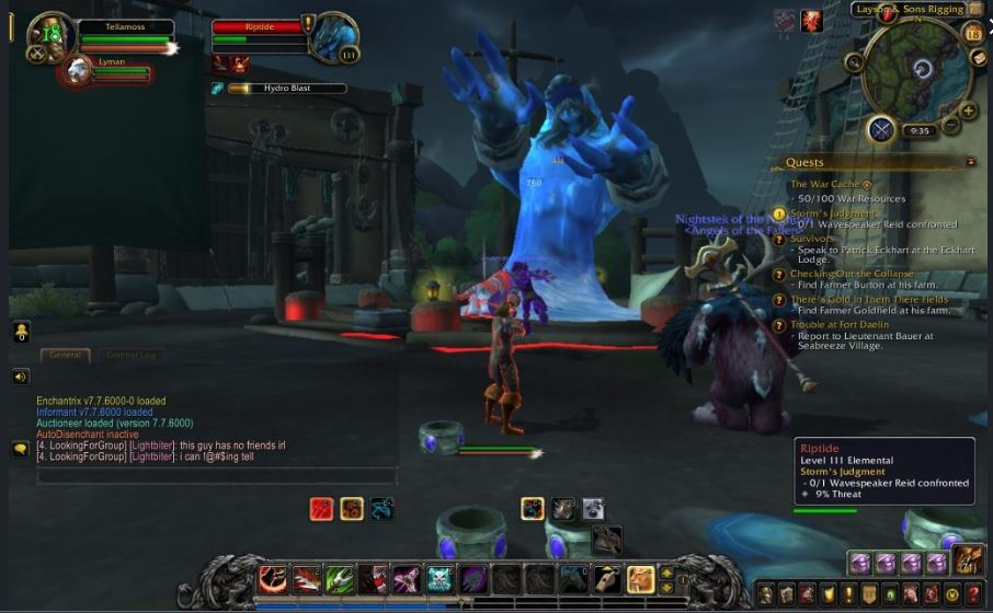 Wow battle for Azeroth gameplay