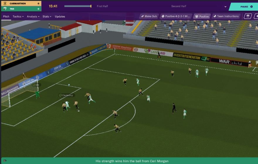 Football Manager 2020 gameplay