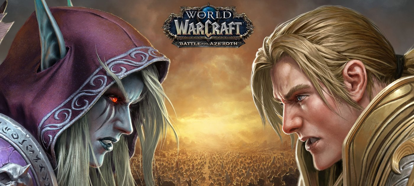 Wow battle for Azeroth cover