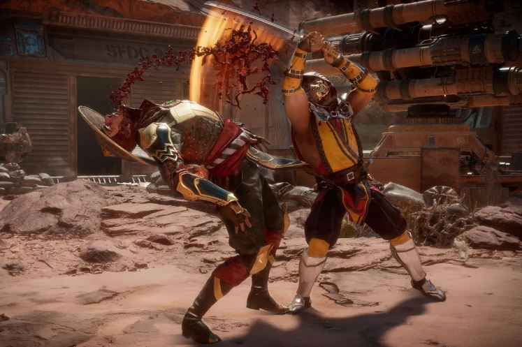 Mortal Kombat 11 graphics
