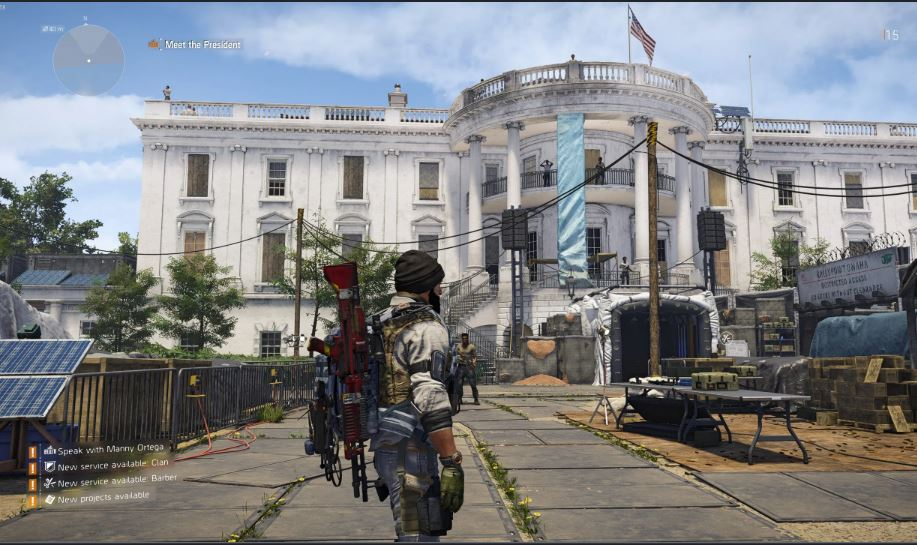 Tom Clancy's The DivIsion 2 Graphics