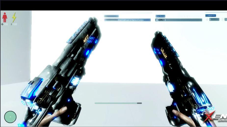 Xeno Time inception guns
