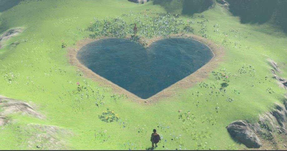 Zelda Lover's pond quest