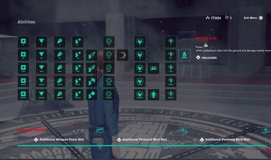 Control ability tree