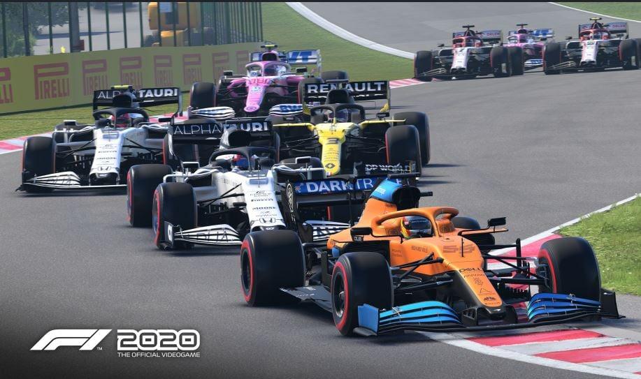 F1 2020 let's race