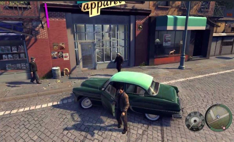 mafia 2 gameplay