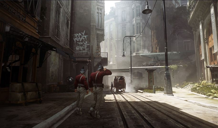 Dishonored 2 street concept
