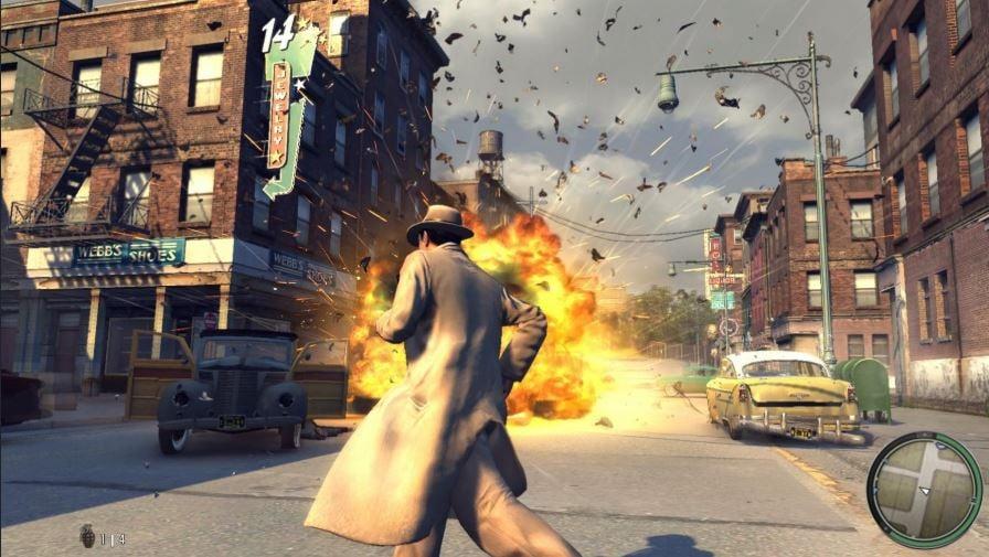mafia 2 gameplay explosion