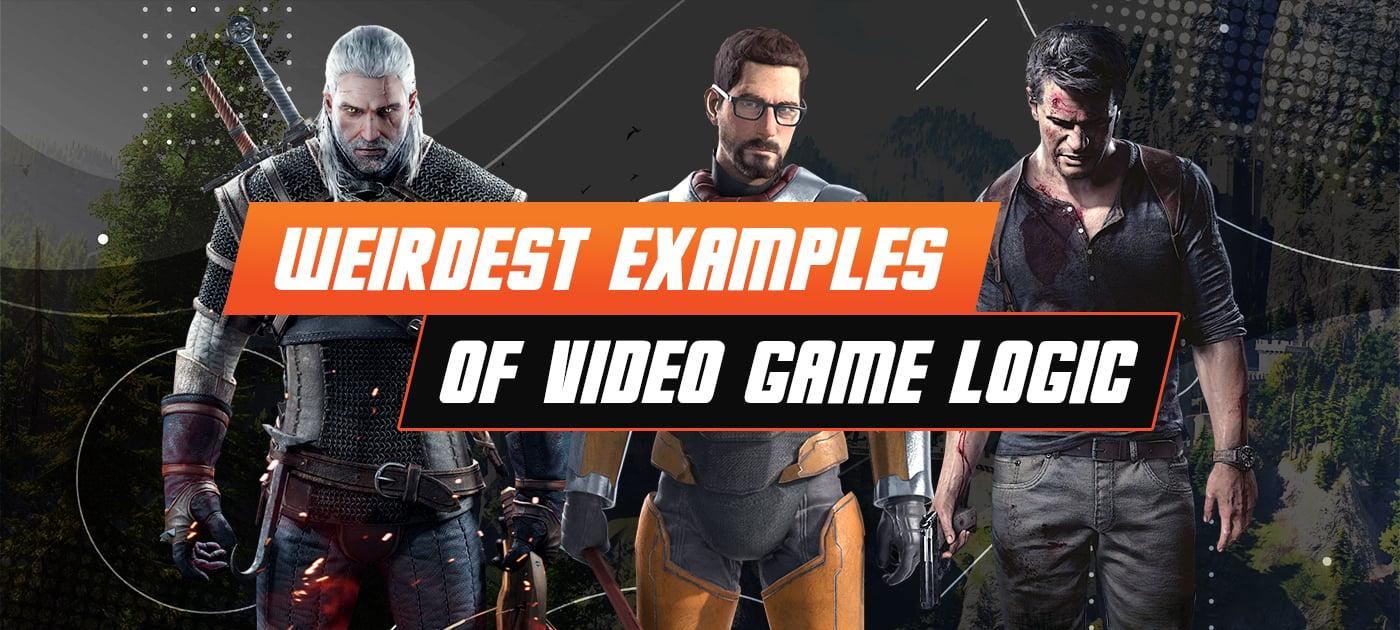Weird video game logic