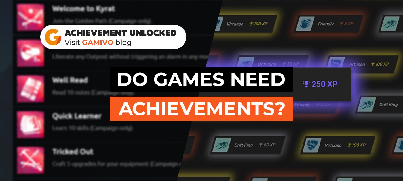 Do games need achievements and trophies?