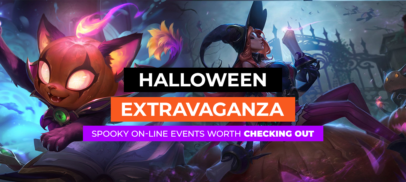 Halloween events in the most popular games